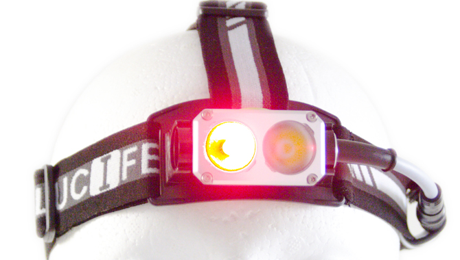 Headlamp Lucifer S2RED