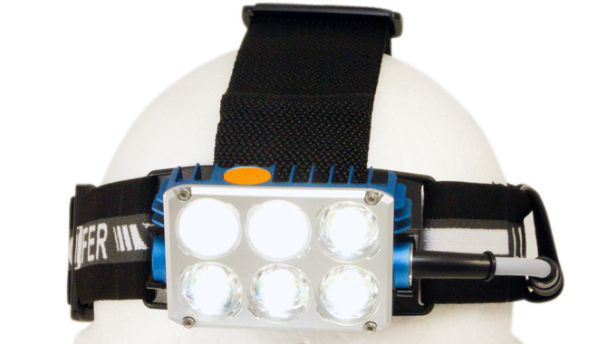 Lucifer X, 5000lm, the most powerful orienteering headtorch
